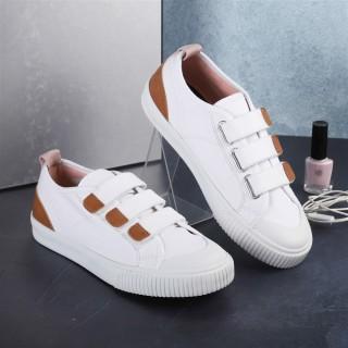 Giày Sneaker Chính Hãng Dincox Coxshoes E01 White Quai Dán thumbnail