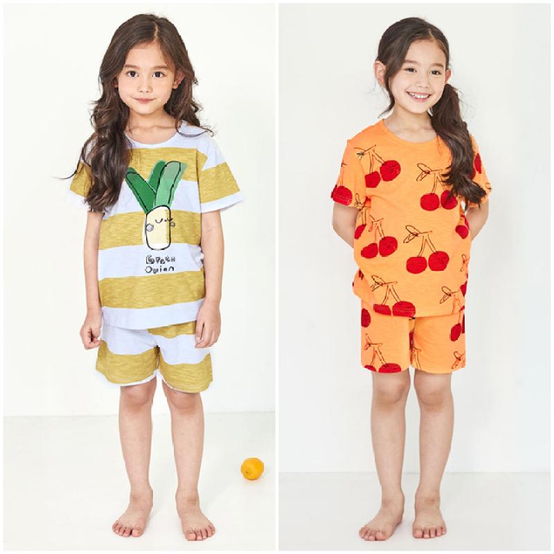Nơi bán Bộ đồ mặc nhà bé gái Unifriend Hàn Quốc Uni007 cho bé 1-10 tuổi, vải cotton organic Korea. Đồ ngủ cao cấp, chính hãng cho bé.
