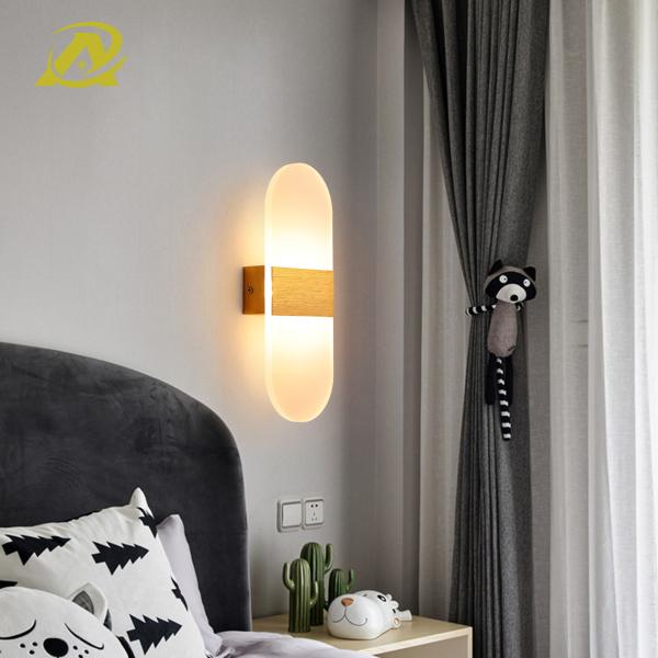 Bảng giá Đèn ngủ treo tường trang trí phòng ngủ, hành lang đơn giản hiện đại đèn led 8187