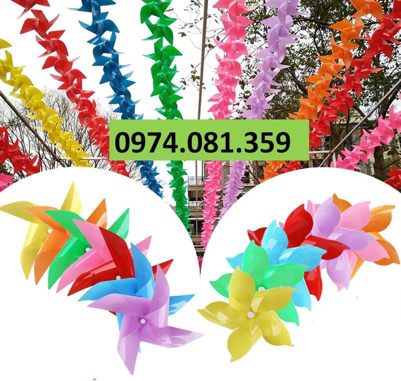 Combo Chong Chóng Nhựa Size 24cm ( combo 100 cái)