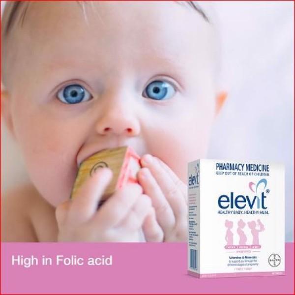 Vitamin bà bầu Elevit Pregnancy Multivitamin 100 Pack (100 Days) cao cấp