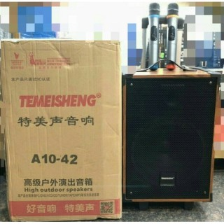Loa kéo di động Temeisheng A10-2 - tặng kèm micro hát karaoke thumbnail