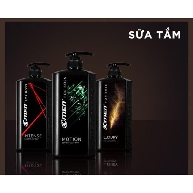 Sữa Tắm Hương Nước Hoa X-Men For Boss 650g Hương Luxury/Motion/Intense nhập khẩu