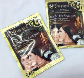 Dầu Gội Gội Là Đen black hair shampoo thumbnail