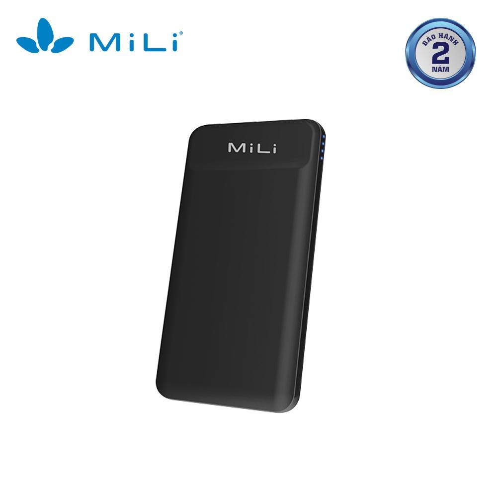 Sạc dự phòng MiLi Power Shine II 10,000mAh/3.7V HB-M90BK