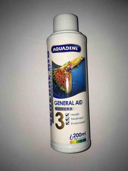 Thuốc trị nhiễm khuẩn ký sinh nấm thối vây AQUADENE GENERAL AID 3