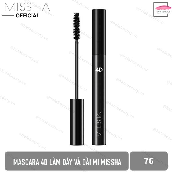 Mascara 4D Làm Dày và Dài Mi Missha 4D Mascara 7g