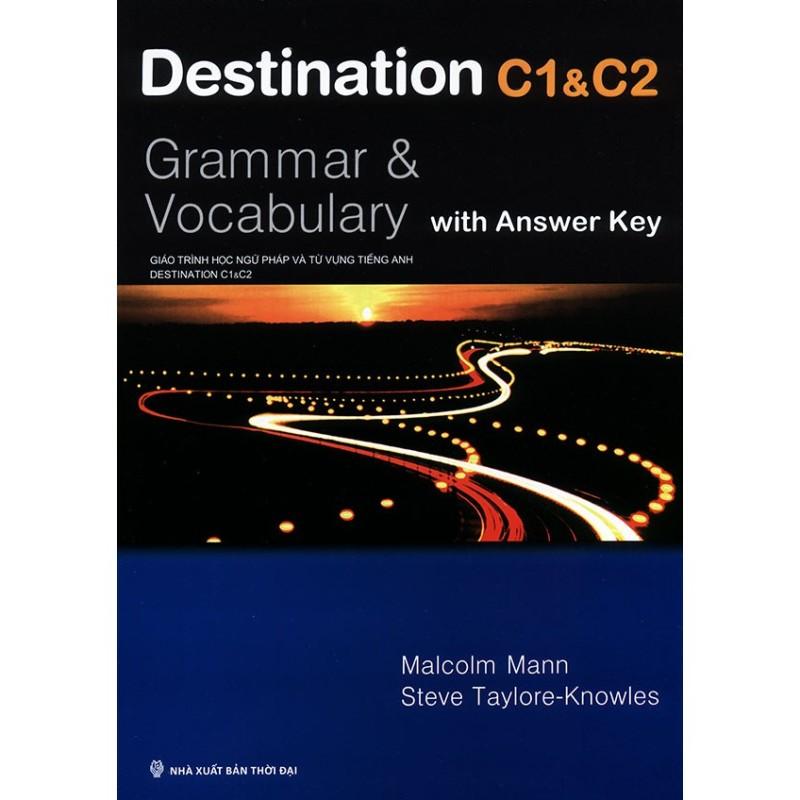 Sách - Destination C1 & C2 : Grammar & Vocabulary Tặng Kèm Bookmark