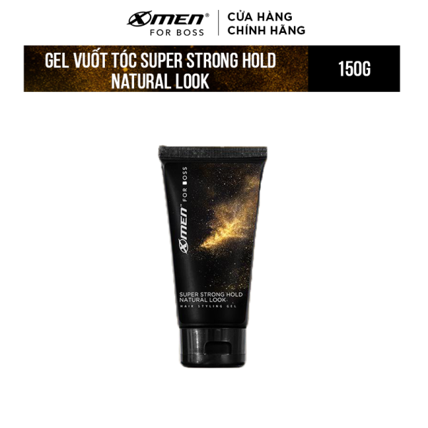 Keo vuốt tóc X-Men For Boss Gel SUPER STRONG HOLD NATURAL LOOK 150G