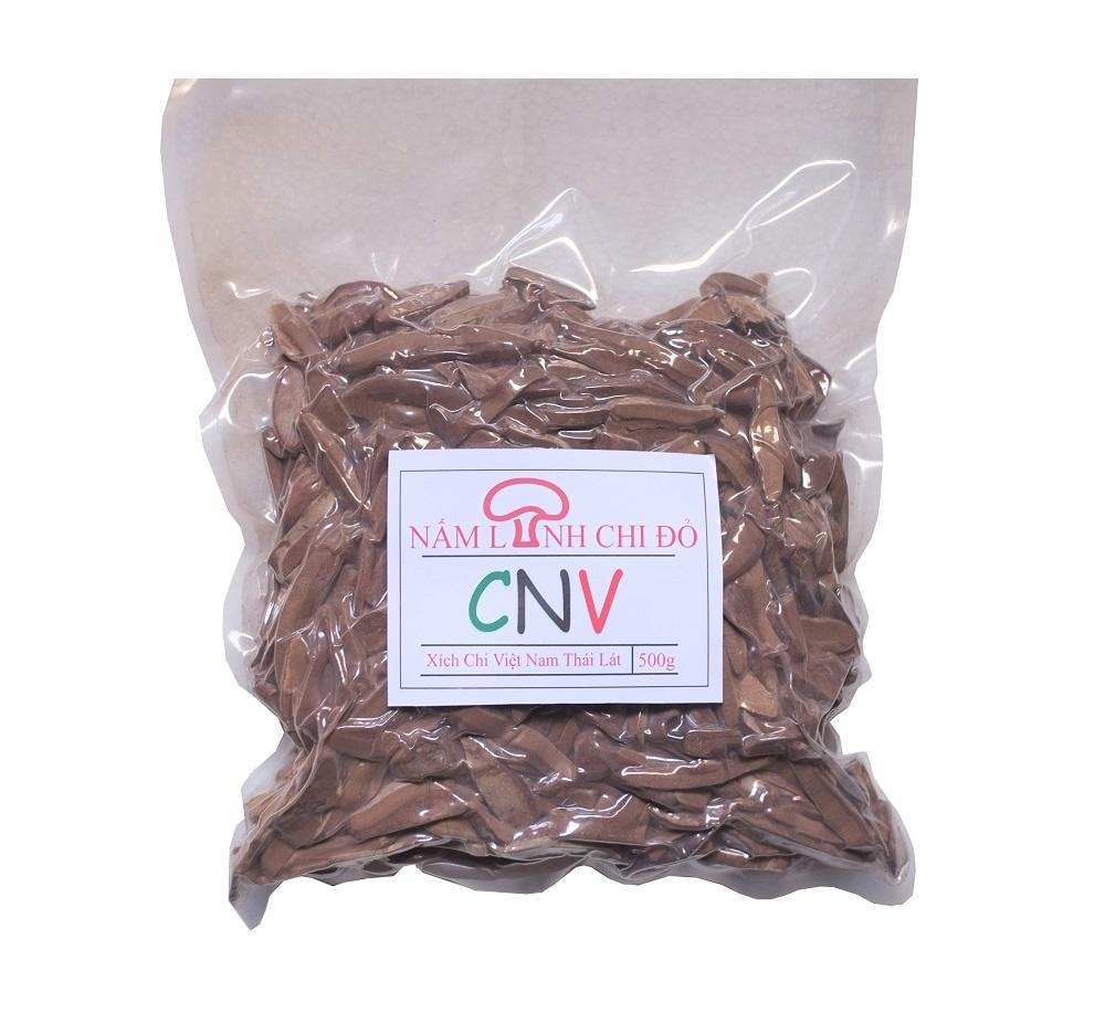 Nấm linh chi đỏ thái lát CNV 500g (Xích chi Việt Nam tự trồng) nhập khẩu