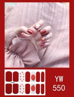 Set 14 miếng dán móng tay, có hơn 40 mẫu miếng dán móng tay 3D cho bạn lựa, miếng dán móng tay cute - Phụ kiện làm đẹp Kina kino thumbnail
