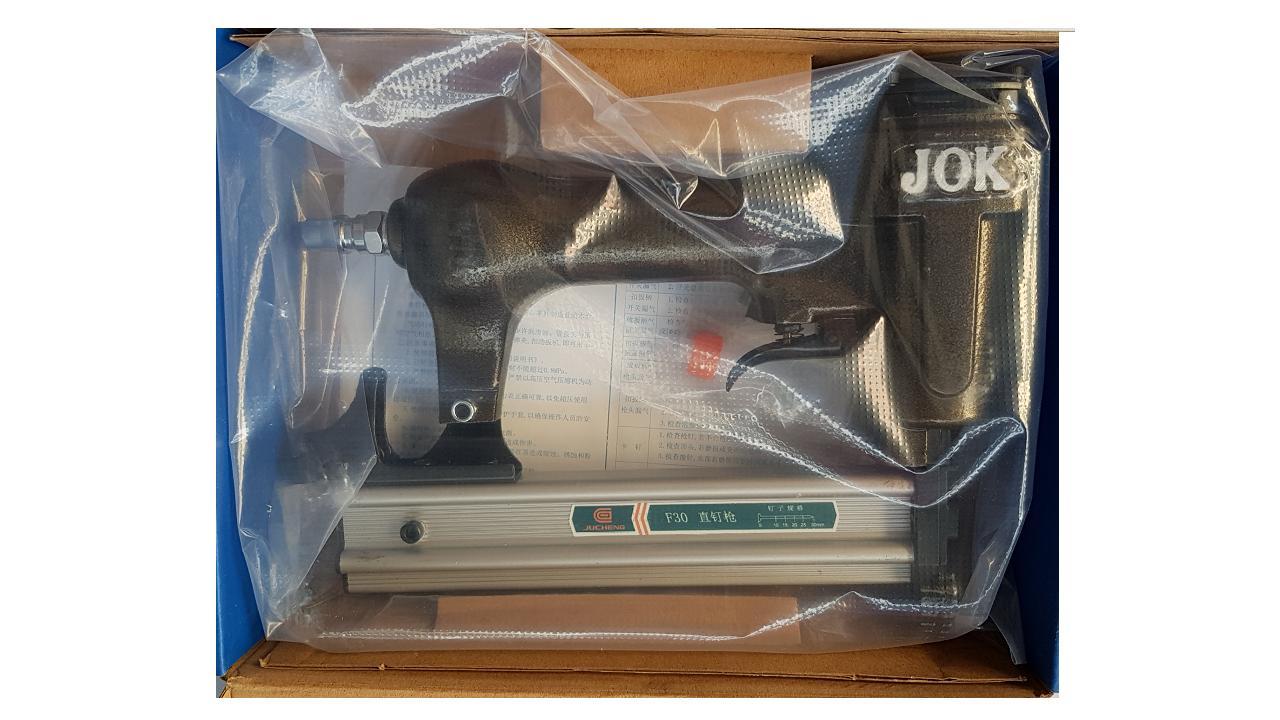 máy bắn đinh đinh ghim gỗ nhựa thẳng F15,20,25,30 JOK