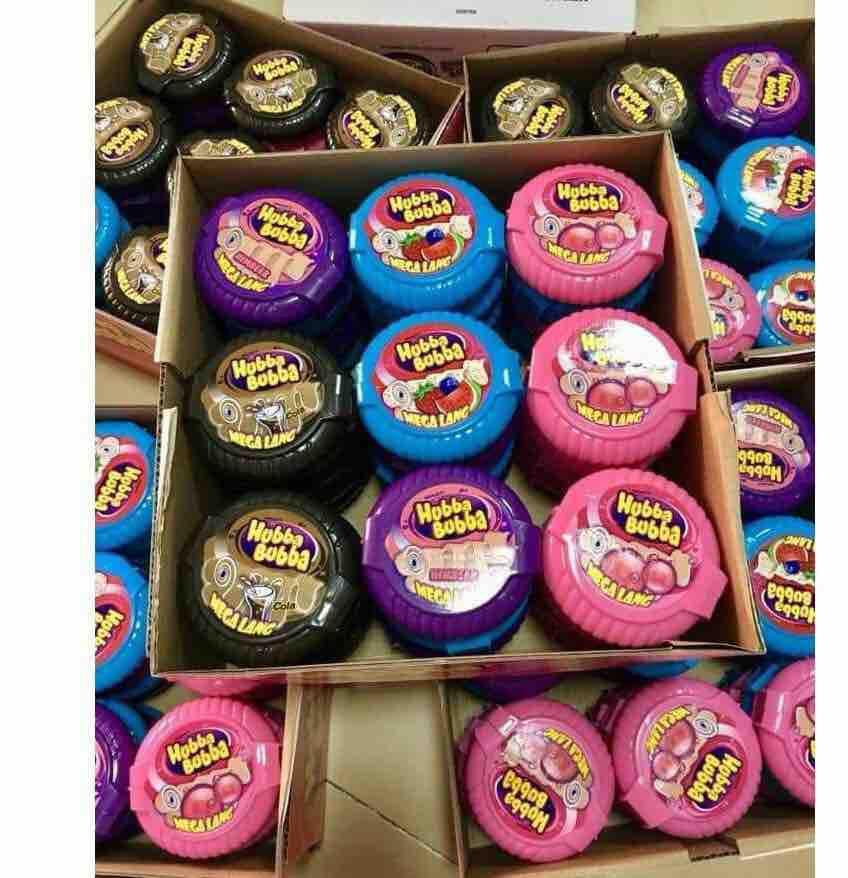 Kẹo cao su khổng lồ hubba bubba đức đủ vị cho bé