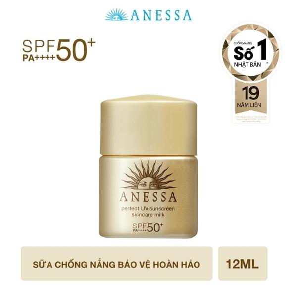 [QUÀ TẶNG] Sữa chống nắng bảo vệ hoàn hảo Anessa Perfect UV Sunscreen Skincare Milk 12ml