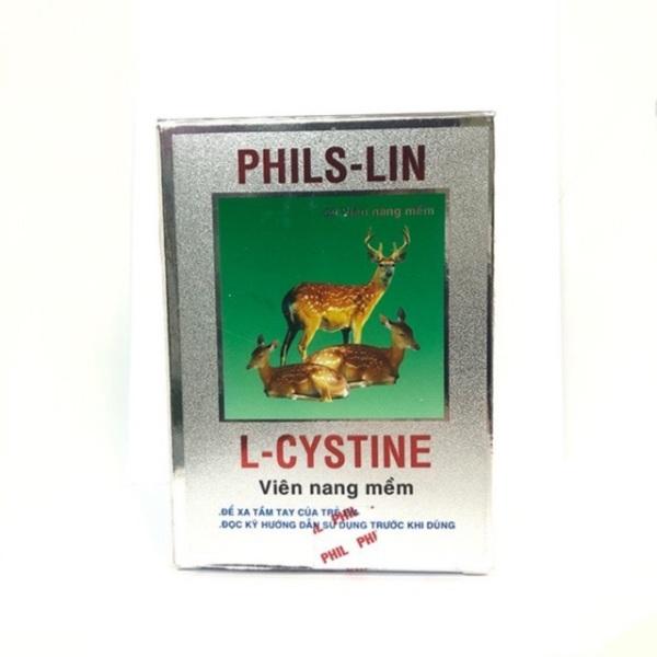 L-cystine phil interma viên uống làm đẹp da tóc mụn hộp 60 viên, sản phẩm có nguồn gốc xuất xứ rõ ràng, đảm bảo chất lượng, dễ dàng sử dụng nhập khẩu