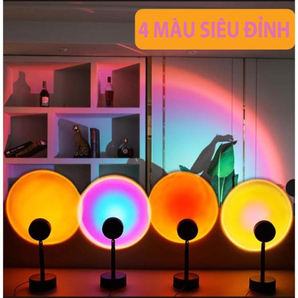 Bảng giá Đèn Hoàng Hôn - Đèn LED Sunset 4 Màu Đèn Quay Tik Tok Hot Nhất Hiện Nay