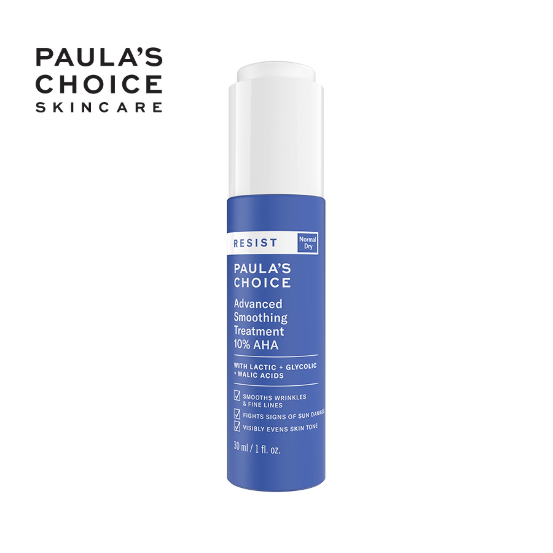 Tinh chất làm sáng và đều màu da Paula's Choice RESIST Advanced Smoothing Treatment 10% AHA-7651 cao cấp