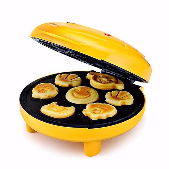 (Bảo Hành Đổi Mới Trong 7 Ngày) Máy nướng làm bánh 7 khuôn hình thú cao cấp -Máy Làm Bánh Hình Thú Cao Cấp -Máy nướng làm bánh mỳ 7 khuôn hình thú -Máy nướng bánh hình thú ngộ nghĩnh cao cấp phiên bản mới