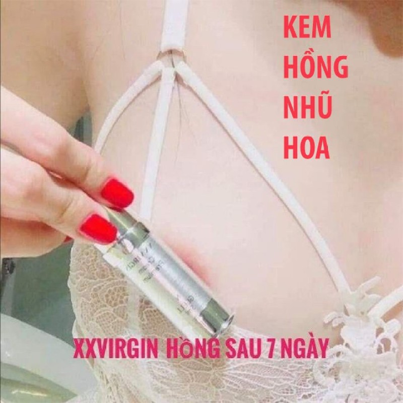Xxvirgin 💝FREESHIP💝Kem Làm hồng Nhũ Hoa & bikini loại N 5ml (Tặng quần ren XK)
