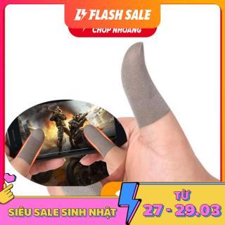 [VER2 SỢI BẠC MỎNG NHẸ CAO CẤP] Bao đầu ngón tay chuyên dụng chơi game mobile chống trơn trượt mồ hôi tay tháo tác dễ dàng - Găng tay chơi game - Ngón tay chơi game thumbnail