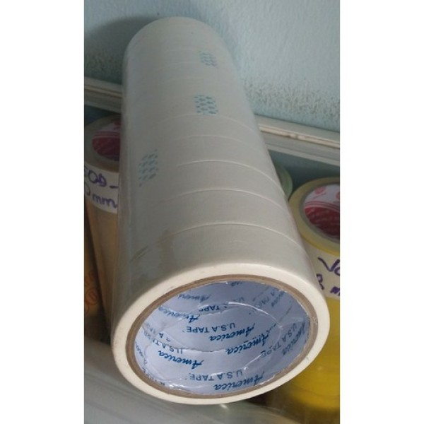 1 Cây băng keo giấy  1.2F(24 cuộn), 2.4F(12 cuộn),3,6F (8 cuộn) và 5F (6 cuộn)