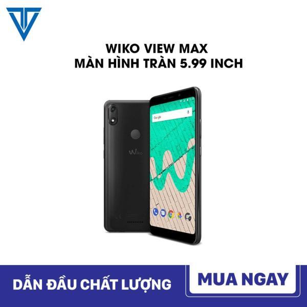 Điện thoại WIKO VIEW MAX MÀN HÌNH TRÀN 5.99 INCH, ROM 16GB RAM 2GB KẾT NỐI 4G + Tặng kèm ốp lưng và miếng dán màn hình ( Bảo hành 12 tháng)