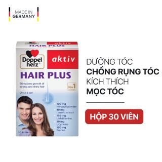 Viên uống Chống Rụng Tóc và Kích Thích Mọc Tóc Doppelherz Aktiv Hair Plus (Hộp 30 viên) thumbnail