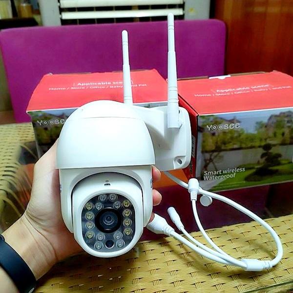 Camera YooSee PTZ xoay 360 - Full HD Siêu nét 2.0mpx-ngoài trời, cam kết chất lượng, bảo hành 2 năm-đổi mới