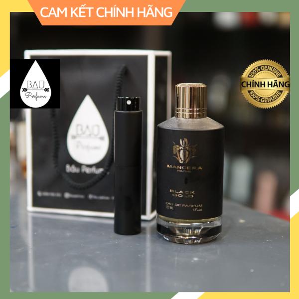 nước hoa Mancera Black Gold Eau de Parfum  _ 10m-20ml-30ml / chuẩn chính hãng