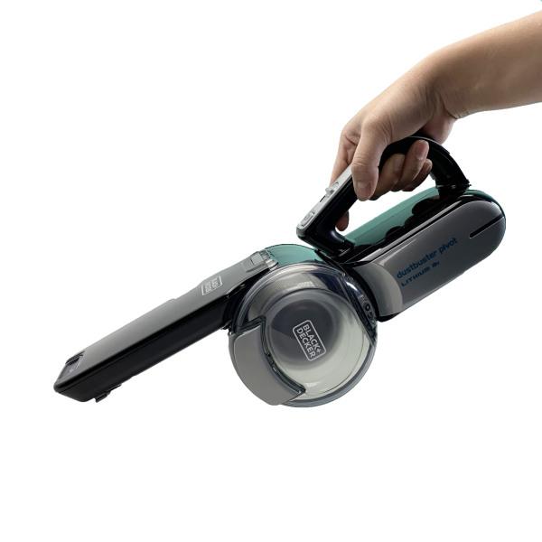 Máy hút bụi cầm tay mini sử dụng trong gia đình - Máy hút bụi đa năng dùng pin 18V Black + Decker PV1820BK