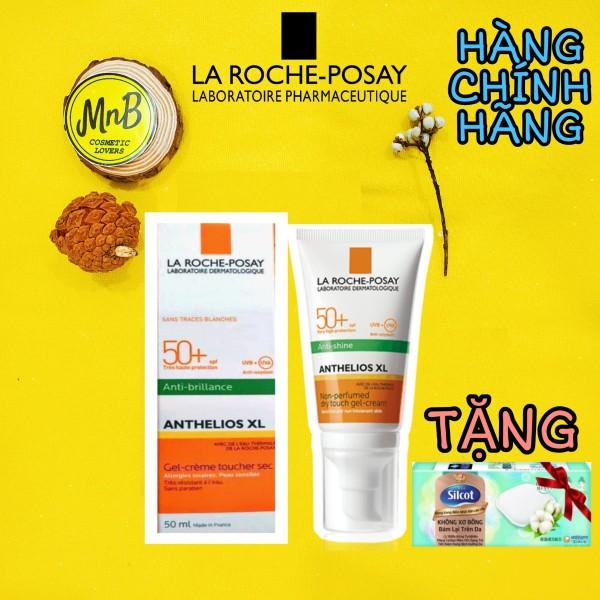 Kem Chống Nắng La Roche Posay Anthelios XL Anti-Shine SPF 50+ Gel-Cream 50ml - MnB Store- Kem chống nắng LaRoche Posay nhập khẩu