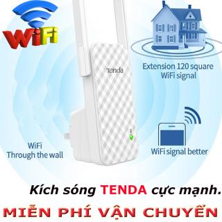 Bộ phát sóng wifi cực mạnh, Tenda Bộ kích sóng Wifi A9 Chuẩn N 300Mbps, Tăng Sóng Wifi , Kích Wifi , Bộ Tiếp Nối Sóng Wi-Fi. thumbnail