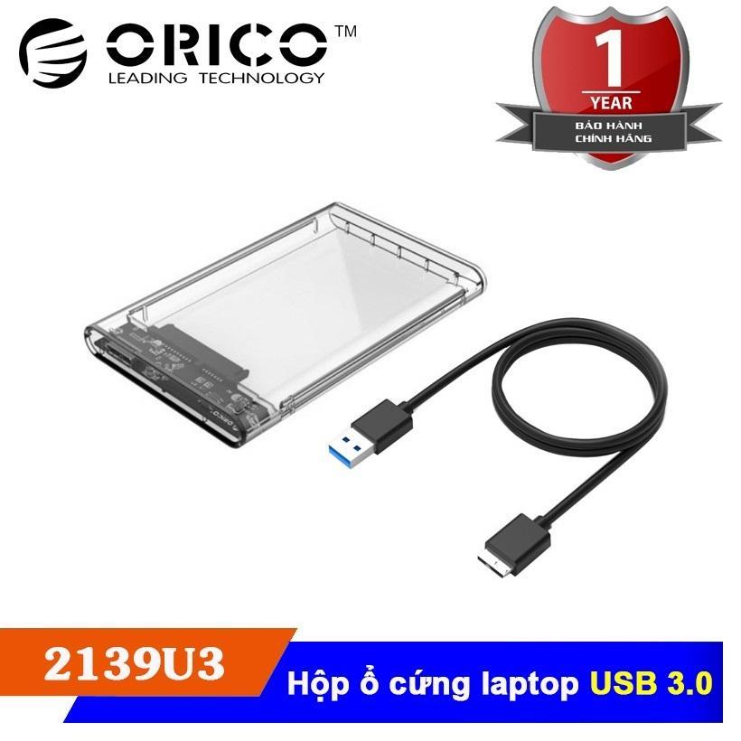 Hộp đựng ổ cứng laptop Orico 2139U3 - Hàng VISCOM phân phối
