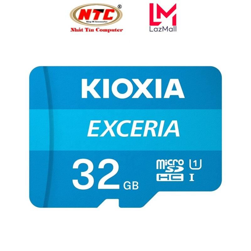 Thẻ nhớ MicroSDHC Kioxia Exceria 32GB UHS-I U1 100MB/s - Formerly Toshiba Memory (Xanh)