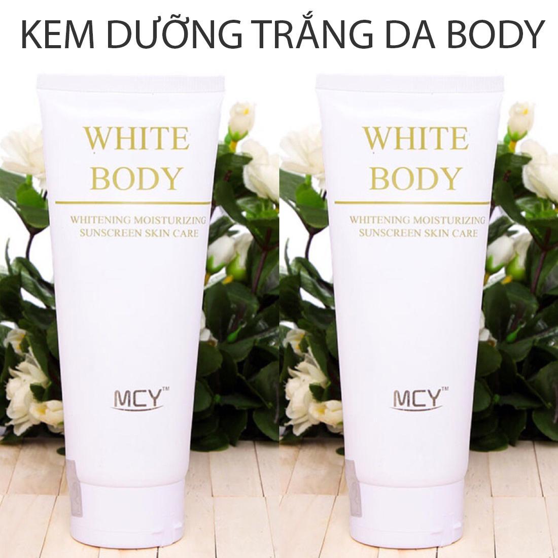 KEM DƯỠNG THỂ WHITE BODY MCY 200ml - DƯỠNG TRẮNG DA TOÀN THÂN, BODY