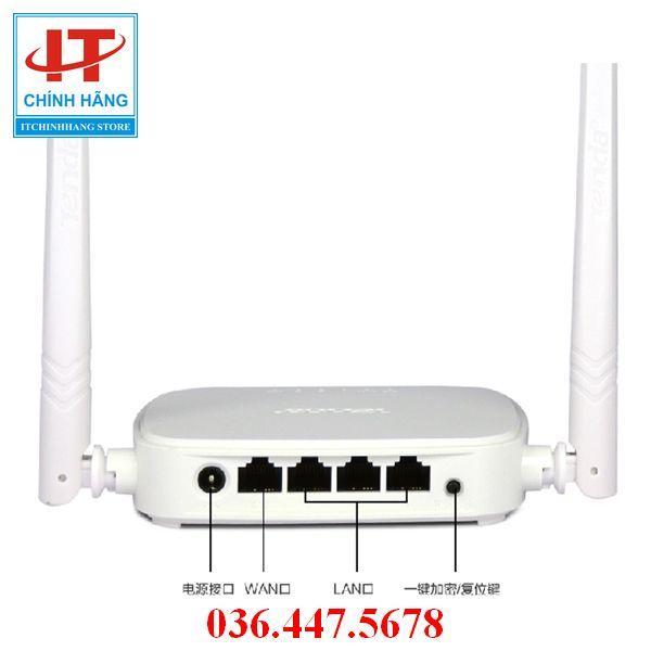 Giá Thiết bị phát sóng WIFI 2 anten tốc độ 300M TENDA N301, (Bảo hành 3 năm 1 đổi 1)