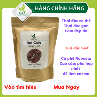 Bột cà phê nguyên chất Enema Viet Healthy 500g- Coffee enema thải độc đại tràng- bột cafe enema thụt tháo đại tràng có tác dụng làm đẹp da, thải độc đại tràng, gan, bảo vệ sức khỏe, chống viêm, cầm máu- Viethealthy thumbnail