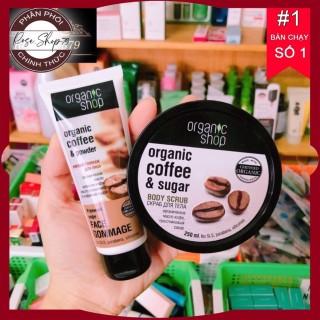Tẩy da chết Organic cà phê Nga mặt - body, chuỗi cửa hàng Baby Crush chuyên phân phối các sản phẩm làm đẹp uy tín số 1 Tây Nguyên, cam kết 100% hàng chính hãng nội ngoại nhập thumbnail