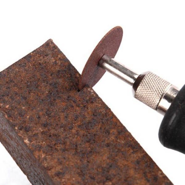 Bộ phụ kiện máy khoan mài điện mini cầm tay 105 chiếc đa năng dùng quay, mài, đánh bóng gỗ