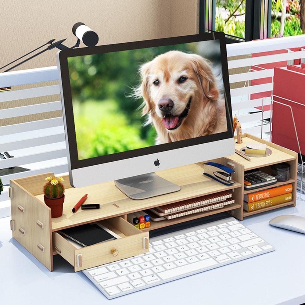 Mua Kệ để màn hình máy tính để bàn có ngăn kéo nhỏ