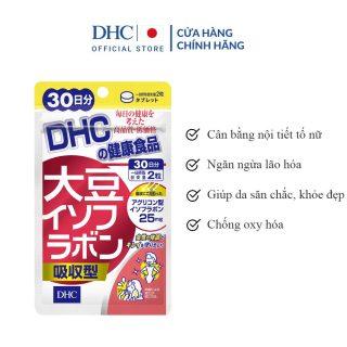 [30 ngày] Viên Uống DHC Mầm Đậu Nành Gói 30 Ngày 60 Viên Soy Isoflavone Absorption Type thumbnail