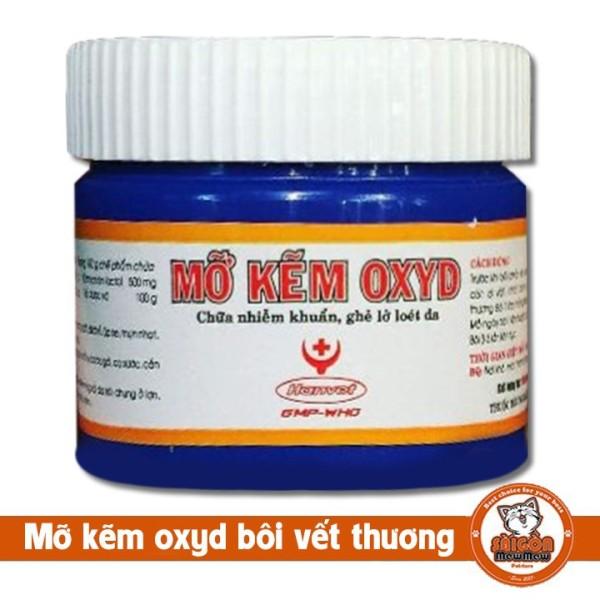 nấm ghẻ Mỡ kẽm Oxyd cho chó mèo