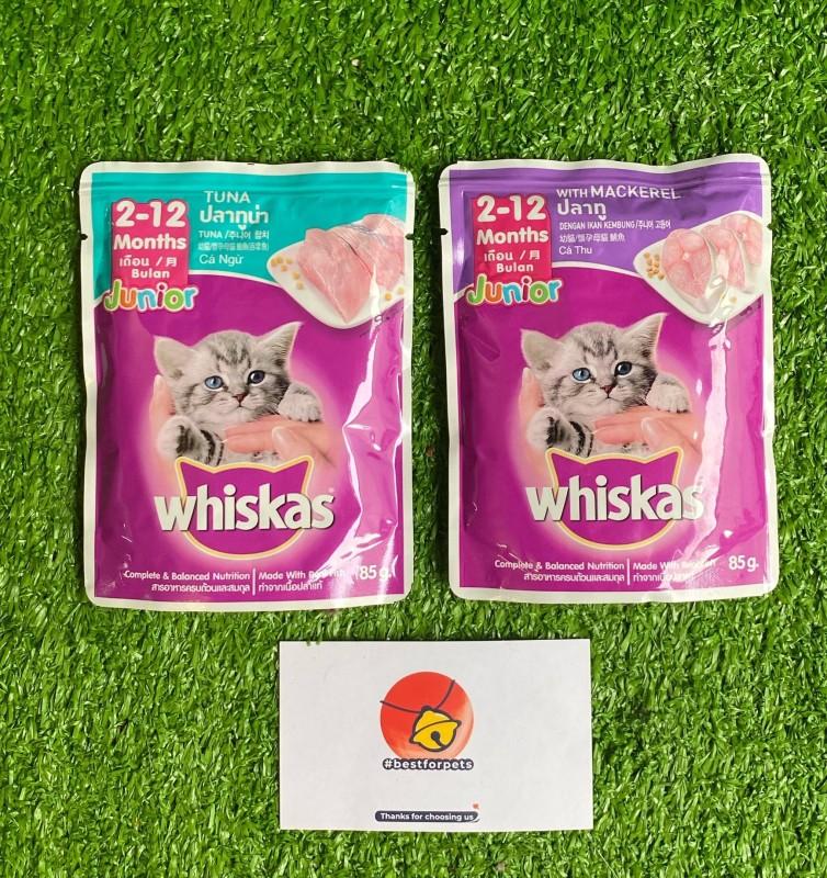 Pate Whiskas dành cho mèo con - Gói 85g