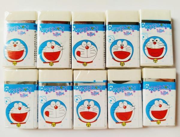 Mua Gôm Doraemon - Hộp 30 cục/ hoặc lẻ 10 cục  trắng,dày, mềm 6136