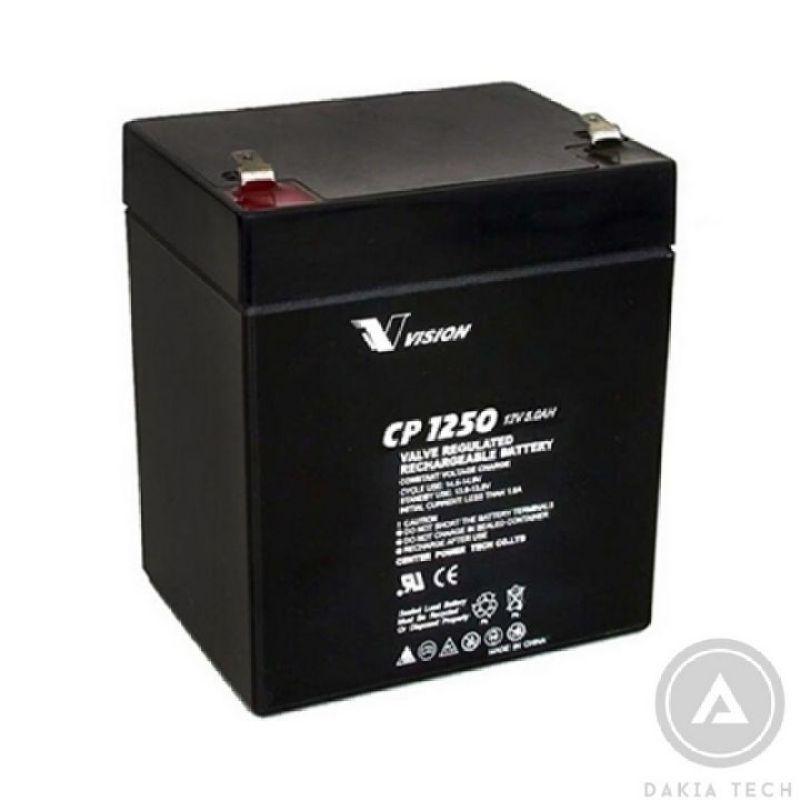Bảng giá Ắc quy Vision CP1250 12V 5Ah Phong Vũ