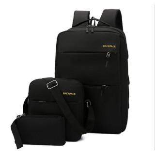 Bộ Ba lô vải, túi đeo chéo, ví cao cấp HÀN QUỐC BL083 thumbnail