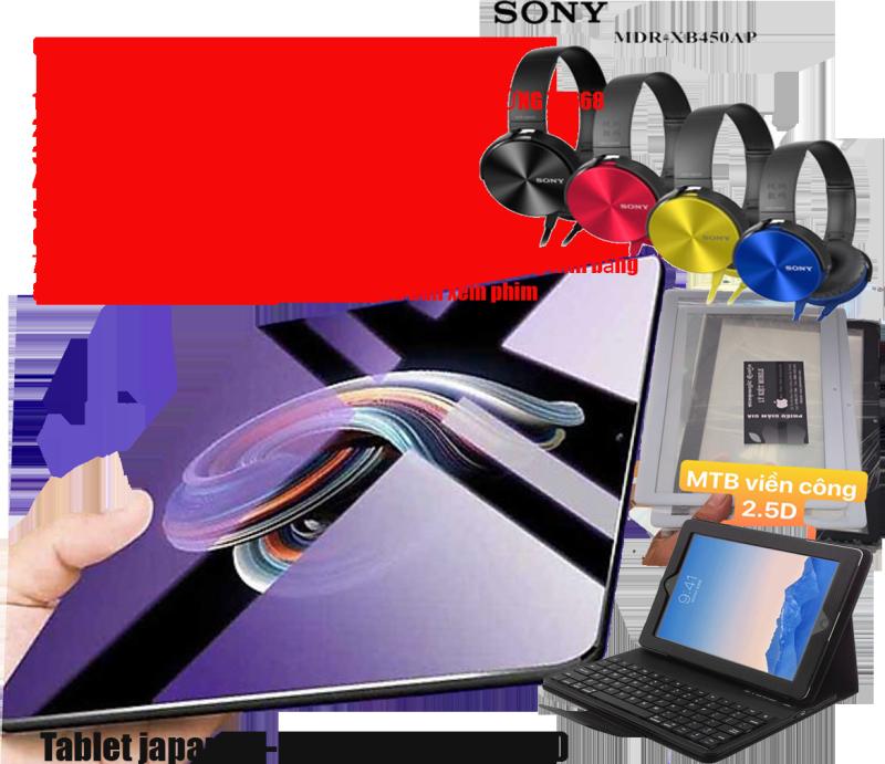 Tablet japan AS888 phiên bản 2020  Ram 6G tặng kèm 1 mặt kính màn hình cảm ứng