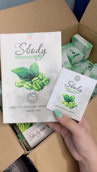 cà phê xanh giảm cân Sbody green coffee Nấm - cafe giảm cân sbody green giá rẻ