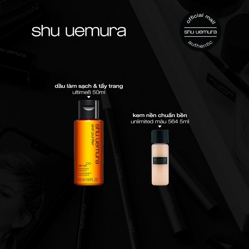 Dầu làm sạch và tẩy trang cao cấp shu uemura ultime8 cleansing oil 450ml