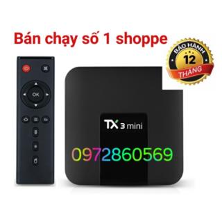 Android Tivi box TX3 Mini Thông Minh TX3 Android 7.1 Amlogic S905W 2G 16G 4K H.265 2.4G 5G Hai Cổng Wifi thumbnail
